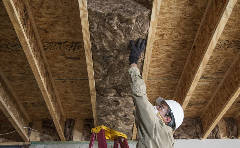 Fiberglass insulation allied insulation for Batt insulation r value